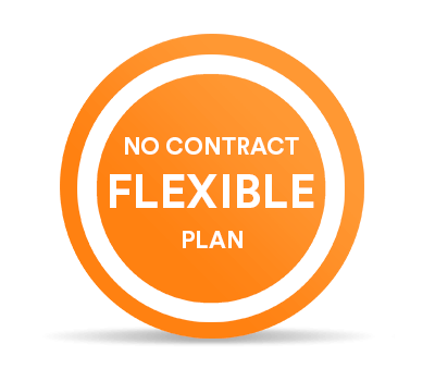 No contract Flexible plan